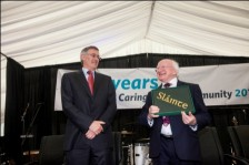 President Higgins with Slainte volume web ver