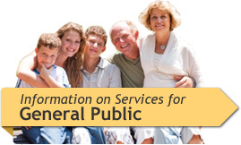 Information on Services for General Public