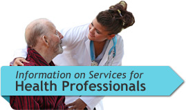 Information on Services for Health Professionals